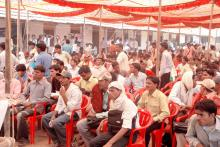 Peoples at Rojgar mela