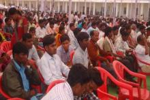 Peoples at Rojgar mela Programme